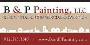 B and P logo